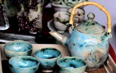 Türkiz teás készlet