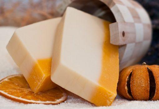Szegfűszeg-narancs szappan