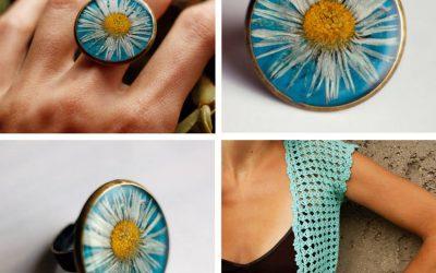 Friss üde tavaszi színek, csillogó élénk, szikrázó vidám nőies raku gyűrűk !