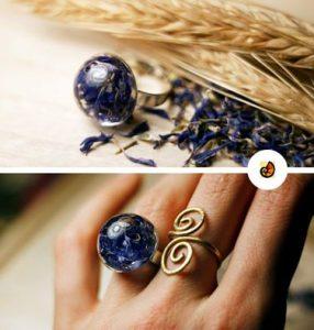 búzavirág kékje