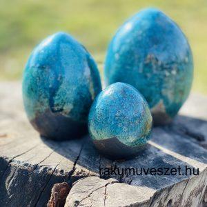 Húsvéti tojások raku himesen