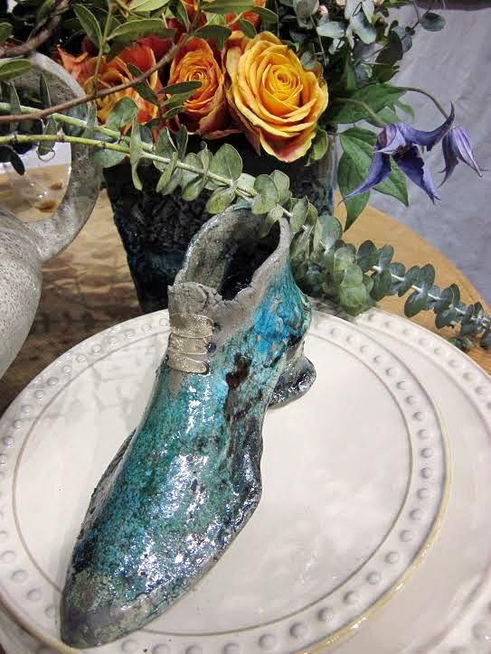 Rakukerámia cipellő, ékszertartó vagy menyasszonyi asztal dísze, Te mit választanál?