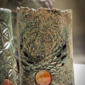 Főnix az örökmegújjulás jelképe az aromamécses dísze