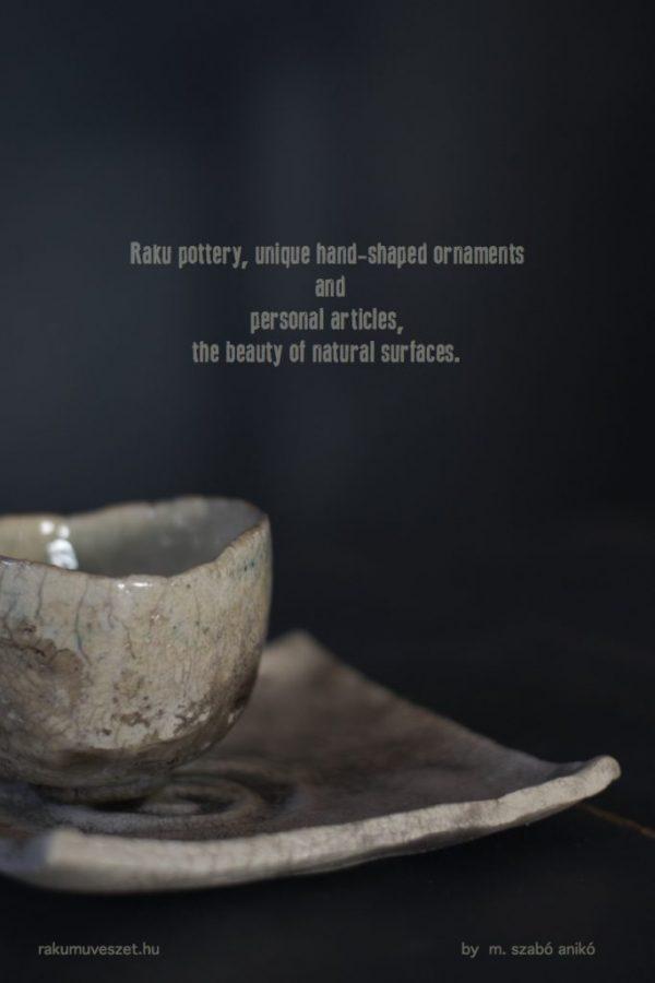 Csésze, chawan alátéttel